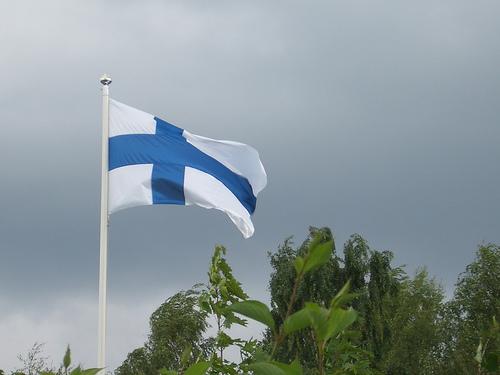 swedish flag photo